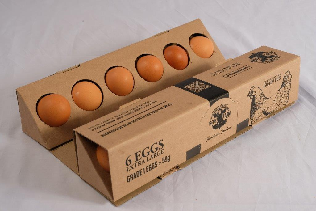Grain Fed Extra Large Eggs