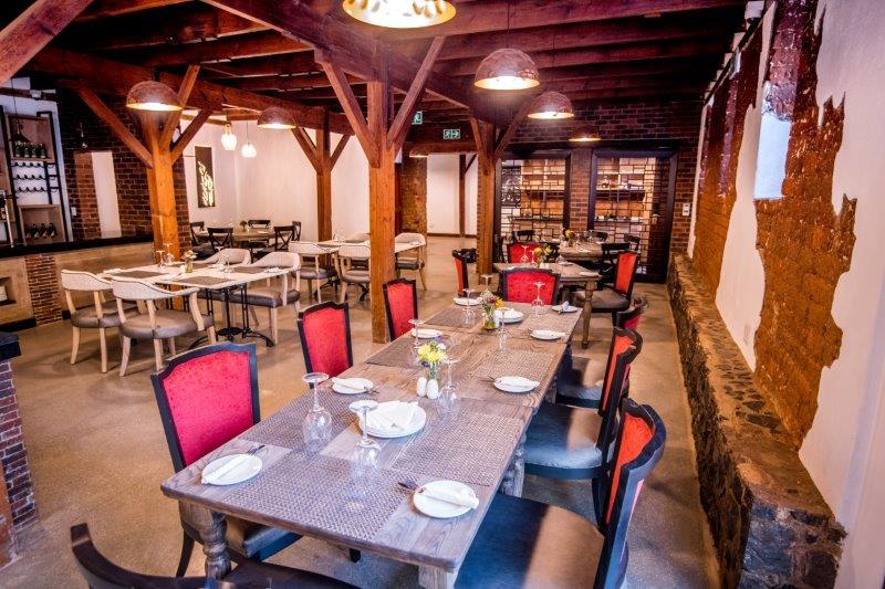 The Barn Restaurant inside